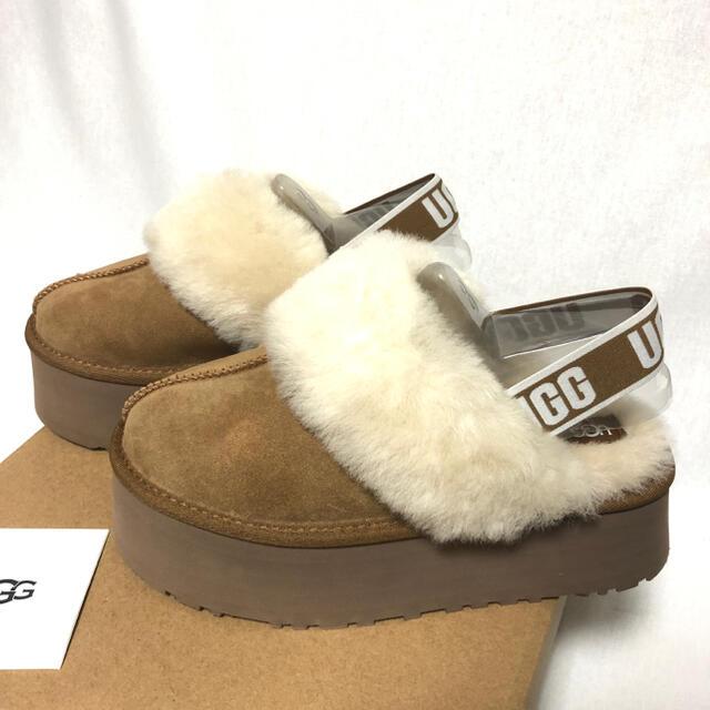 UGG(アグ)のFUNKETTE 1113474 チェスナット 25㎝ レディースの靴/シューズ(サンダル)の商品写真