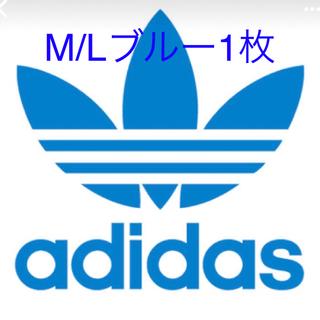 adidas - アディダス  adidas M/L ブルー 1枚 未使用品