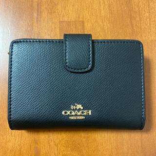 COACH - coach 二つ折り財布 ブラック