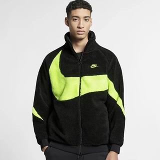 ナイキ(NIKE)のNIKE big swoosh boa jacket ナイキ ボア ジャケット(ブルゾン)