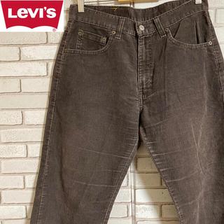 Levi's - 90s 古着 リーバイス コーデュロイパンツ モスグレー
