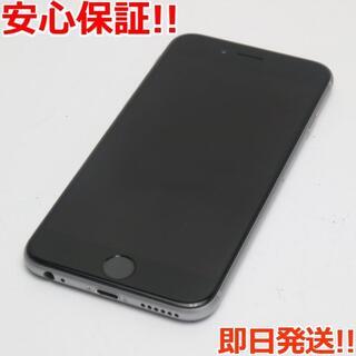 アイフォーン(iPhone)の新品同様 SIMフリー iPhone6S 128GB スペースグレイ (スマートフォン本体)