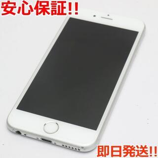 アイフォーン(iPhone)の美品 SIMフリー iPhone6S 32GB シルバー (スマートフォン本体)