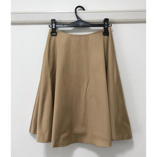 ロペ(ROPE)のサテンフレアスカート(ひざ丈スカート)