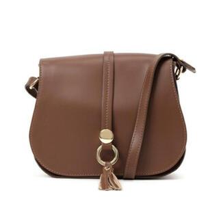 イエナスローブ(IENA SLOBE)の【緊急値下】IENA SLOBE購入 本革バッグ(ショルダーバッグ)