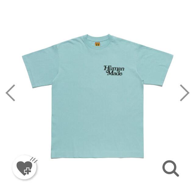 Supreme(シュプリーム)のhuman made × girls don't cry ブルー M メンズのトップス(Tシャツ/カットソー(半袖/袖なし))の商品写真