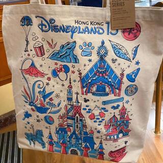 Disney - 香港ディズニー⭐新作💗15周年スターバックスコラボ🔯トートバッグ
