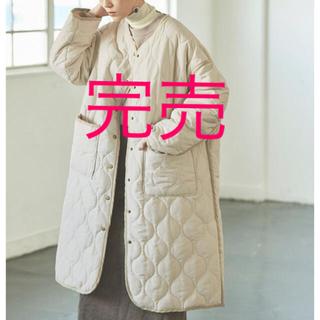 Mila Owen - 【新品タグ付き】【2020新作】マットタフタパイピングキルティングコート
