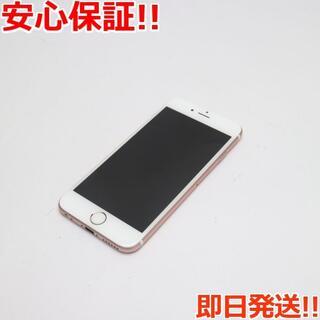 アイフォーン(iPhone)の美品 DoCoMo iPhone6S 64GB ローズゴールド (スマートフォン本体)