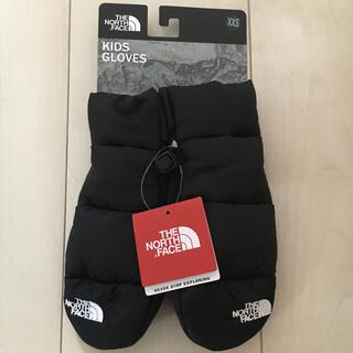 THE NORTH FACE - ノースフェイス キッズグローブ 100cm XXS 手袋 ミトン ブラック