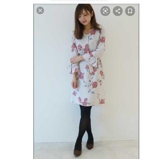 PROPORTION BODY DRESSING - お値下げ美品☆プロポーションボディドレッシング ローズ フラワー ワンピース