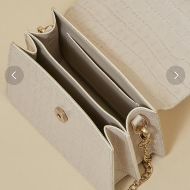 31 Sons de mode(トランテアンソンドゥモード)の【31 Sons de mode】 型押し合皮ミニショルダーバッグ レディースのバッグ(ショルダーバッグ)の商品写真