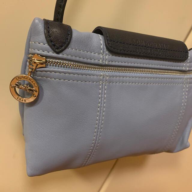 LONGCHAMP(ロンシャン)のロンシャン ショルダーバッグ ANA機内販売限定 美品 バイカラー レディースのバッグ(ショルダーバッグ)の商品写真