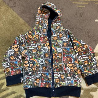 A BATHING APE - BAPE kids パーカー