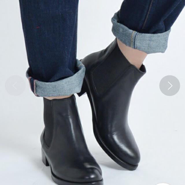SHIPS(シップス)のSHIPS サイドゴアブーツ レディースの靴/シューズ(ブーツ)の商品写真
