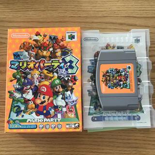 ニンテンドウ64(NINTENDO 64)のニンテンドー64 マリオパーティー3(家庭用ゲームソフト)