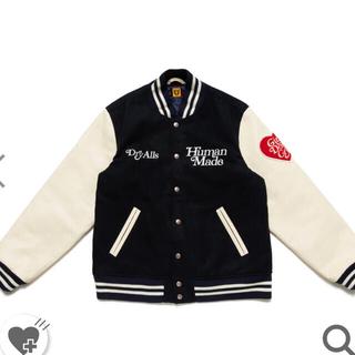 アベイシングエイプ(A BATHING APE)のhuman made versity jacket(スタジャン)