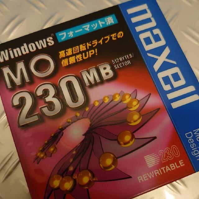 maxell(マクセル)のmaxell MO 1枚 スマホ/家電/カメラのPC/タブレット(PC周辺機器)の商品写真