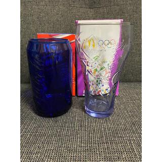 コカコーラ(コカ・コーラ)の【新品・未使用】コカコーラ×マクドナルド コラボグラス(グラス/カップ)