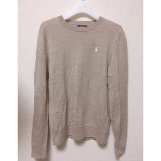 Ralph Lauren - ポロラルフローレン washable merino wool knit