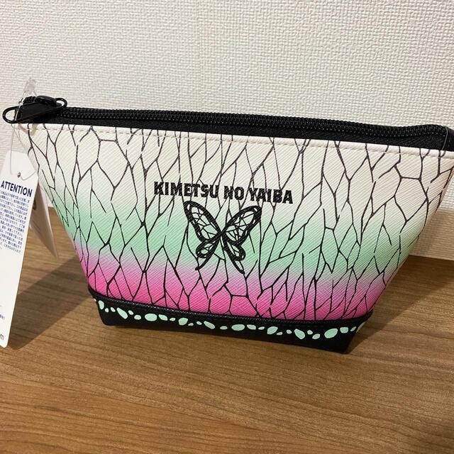 GU(ジーユー)のGU  鬼滅の刃コラボ 胡蝶しのぶ ポーチ レディースのファッション小物(ポーチ)の商品写真