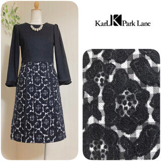 KarL Park Lane - カールパークレーン ◆ 切り替えワンピース ◆ 日本製