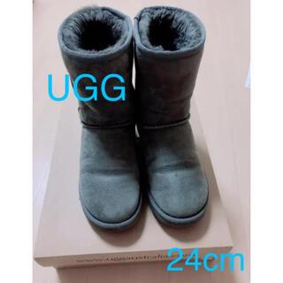UGG - UGG アグ ムートンブーツ グレー