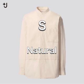 UNIQLO - UNIQLO ユニクロ★プラスJ★スーピマコットンオーバーサイズシャツ★S★+J