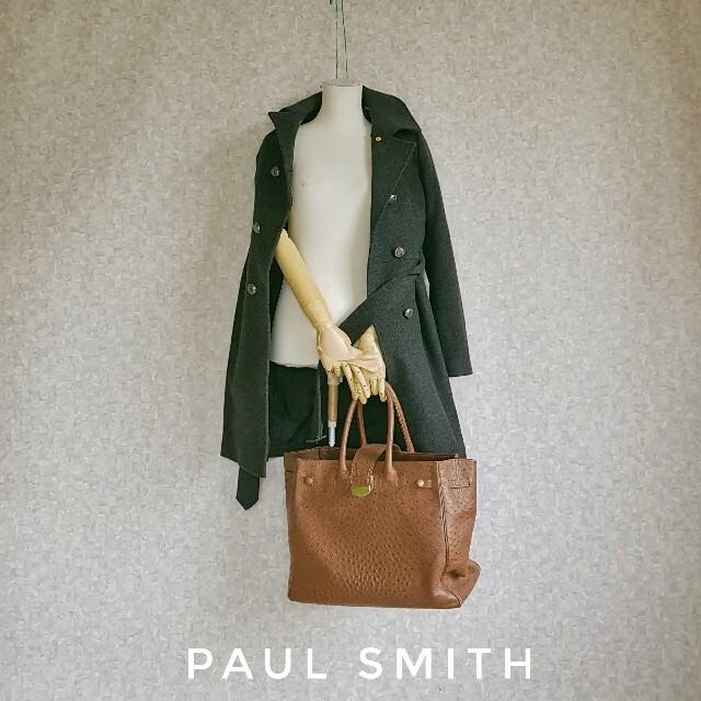 Paul Smith(ポールスミス)の高級 ポールスミス 極美品 豪華おしゃれベルテッドコート 人気モダンスタイル レディースのジャケット/アウター(チェスターコート)の商品写真