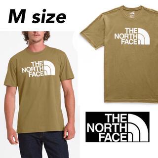 THE NORTH FACE - ノースフェイス ハーフドーム Tシャツ 半袖 カットソー ブリティシュカーキ M