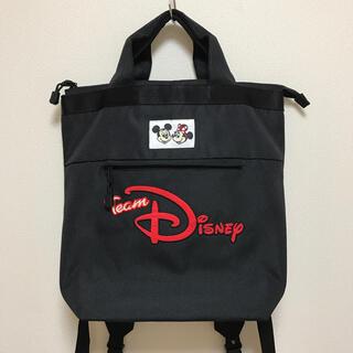 Disney - TDR チームディズニー リュックサック 2WAY