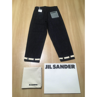 Jil Sander - 新品未使用 20AW JILSANDER+  CROPPED TIE JEANS