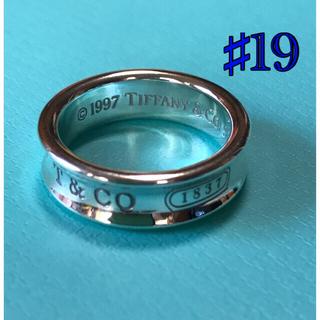 Tiffany & Co. - 【未使用品】Men's  ティファニー  ナローリング 19号