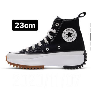 CONVERSE - Converse ブラック Run Star Hike 22.5cm