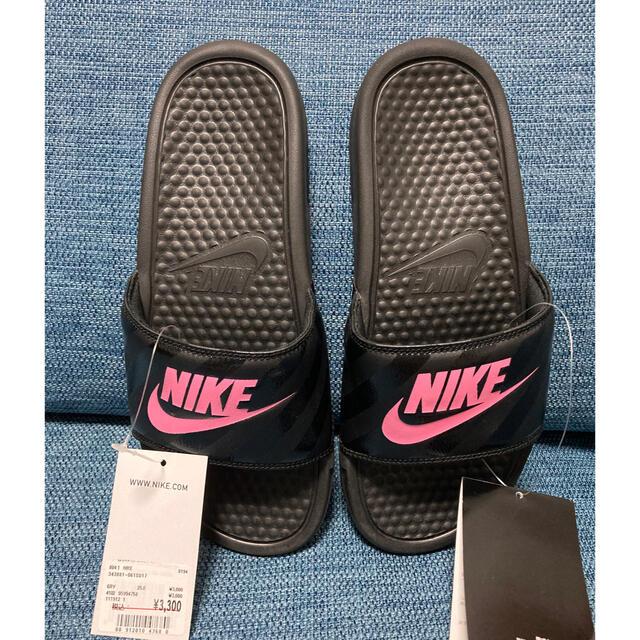 NIKE(ナイキ)のNIKEベナッシサンダル‼️25センチ‼️ブラック‼️ レディースの靴/シューズ(サンダル)の商品写真