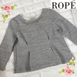 ROPE - 未使用ROPE'ロペ(M)ビジューの可愛いトップス