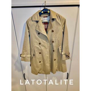 ラトータリテ(La TOTALITE)の【La Totalite 】トレンチコート ベスト セット レディース M(トレンチコート)