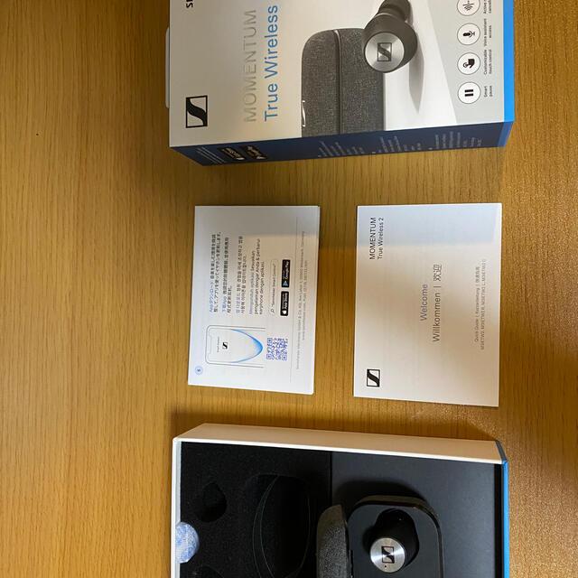 SENNHEISER(ゼンハイザー)のmomentum true wireless2 スマホ/家電/カメラのオーディオ機器(ヘッドフォン/イヤフォン)の商品写真