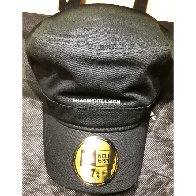 FRAGMENT(フラグメント)のNew era FRAGMENT フラグメントニューエラ 7 3/4 新品 メンズの帽子(キャップ)の商品写真