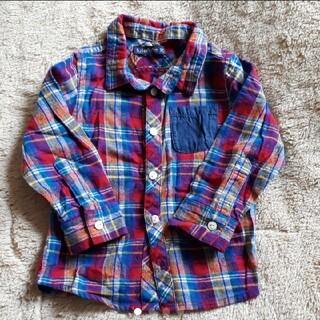 フタフタ(futafuta)のチェックシャツ 90(ブラウス)