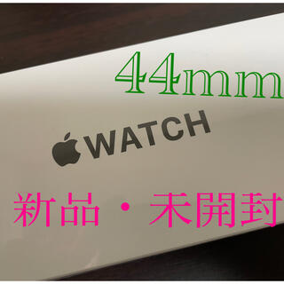 Apple Watch - 新品未開封 Apple Watch  SE(GPS )44mm スペースグレー