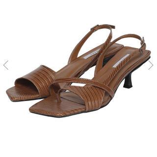 Ameri VINTAGE - ameri vintage♡2020ss shoes♡