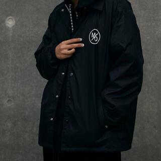 みきおだ m/o coach jacket