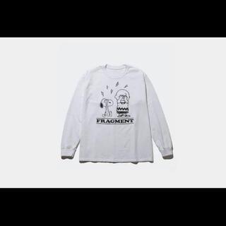 フラグメント(FRAGMENT)のFRAGMENT PEANUTS LONG SLEEVE TEE(Tシャツ/カットソー(七分/長袖))