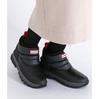ハンター(HUNTER)の新品未使用 HUNTER ORIGINAL SNOW ANKLE BOOT(ブーツ)