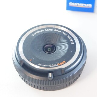 OLYMPUS - 9mm 1:8.0FISHEYE オリンパス 魚眼 キャップレンズ