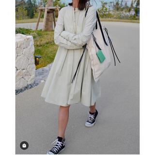 Drawer - gypsohila  Shirt Dress PaleGreen