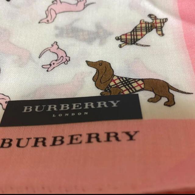BURBERRY(バーバリー)のバーバリー ハンカチ レディース レディースのファッション小物(ハンカチ)の商品写真