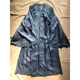 Lochie - US Vintage choir robe フレアスリーブローブ ブルードレス