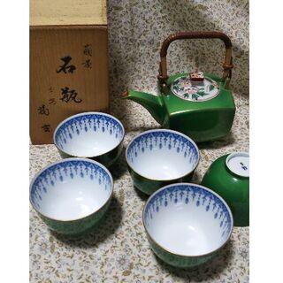 タチキチ(たち吉)の輪道さま専用 たち吉 急須 湯呑5個+風炉(食器)